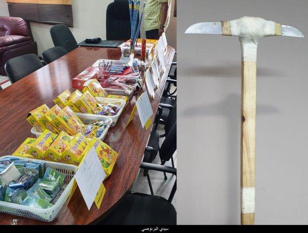 القنبول داير حالة فكازا.. اعتقال 11 شخصا وحجز كميات كبيرة من المفرقعات والشهب النارية(صور)