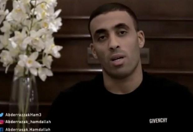 غادي يفركع الرمانة.. حمد الله يعد بكشف سبب مغادرته لمعسكر الأسود (فيديو)