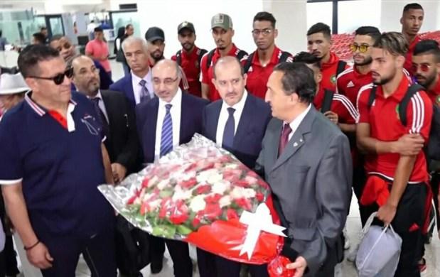 مسؤول جزائري للاعبي المنتخب المغربي: مرحبا بكم في بلدكم مش بلدكم الثاني هذا بلدكم