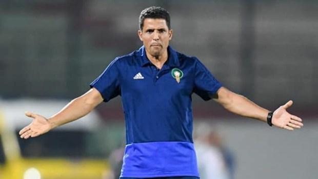 لمواجهة الجزائر.. الحسين عموتة جمع الفرقة وكيوجد
