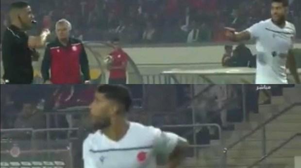 قال إنه بصق على زميله العملود.. يحيى جبران ينفي بصقه على حكم مباراة الوداد ونهضة بركان