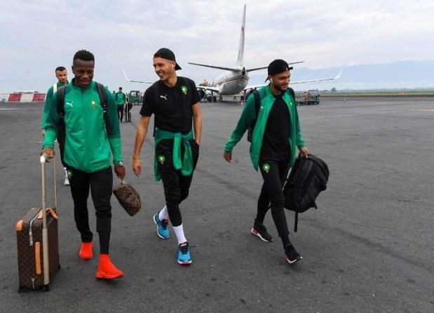 بعد رحلة دامت 12 ساعة.. بعثة المنتخب الوطني تصل إلى بوروندي