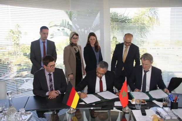 منحه هبة بقيمة 3 ملايين أورو.. تعاون بين البنك الألماني KFW والمكتب الوطني للكهرباء والماء