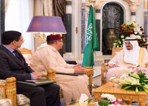 بلغه رسالة شفوية من الملك.. ولي عهد السعودية يستقبل فؤاد الهمة