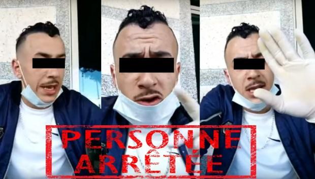 """جابها فراسو.. البوليس يوقف صاحب فيديو """"كورونا"""" في تطوان"""