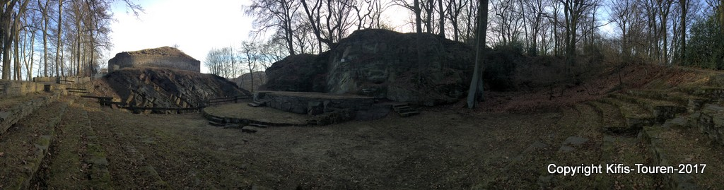 Zur Ruine Isenburg von Hattingen