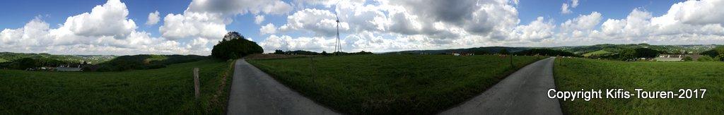 Vom Wanderparkplatz Alaunstraße zum Forellenhof Bieker
