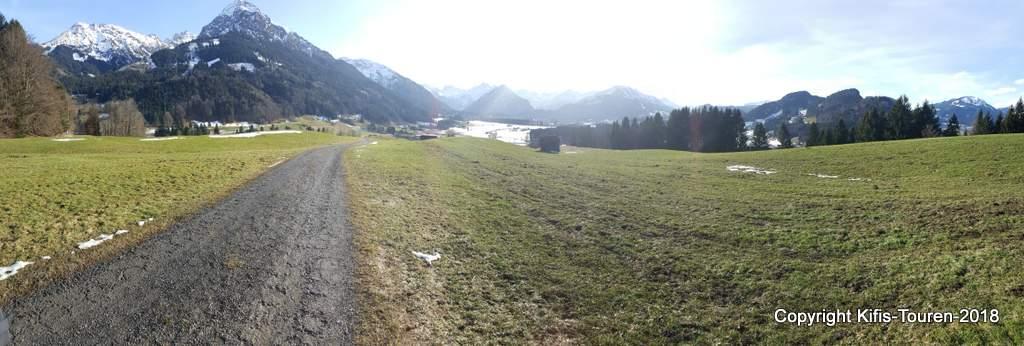 Von Oberstdorf nach Reichenbach