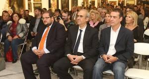 Φωτογραφία από εκδήλωση στην γκαλερί Κουβουτσάκη στην Κηφισιά