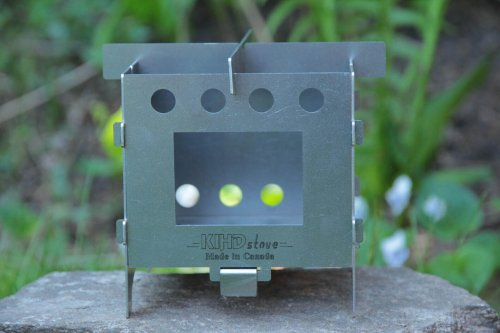 KIHD Stove Basic camping stove made of cold rolled steel
