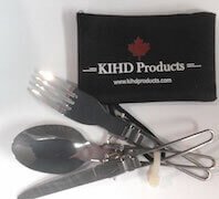 Light weight cutlery made of stainless steel
