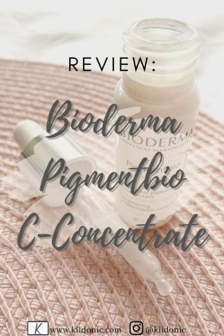 Pinterest pin - bioderma pigmentbio c-concentrate review