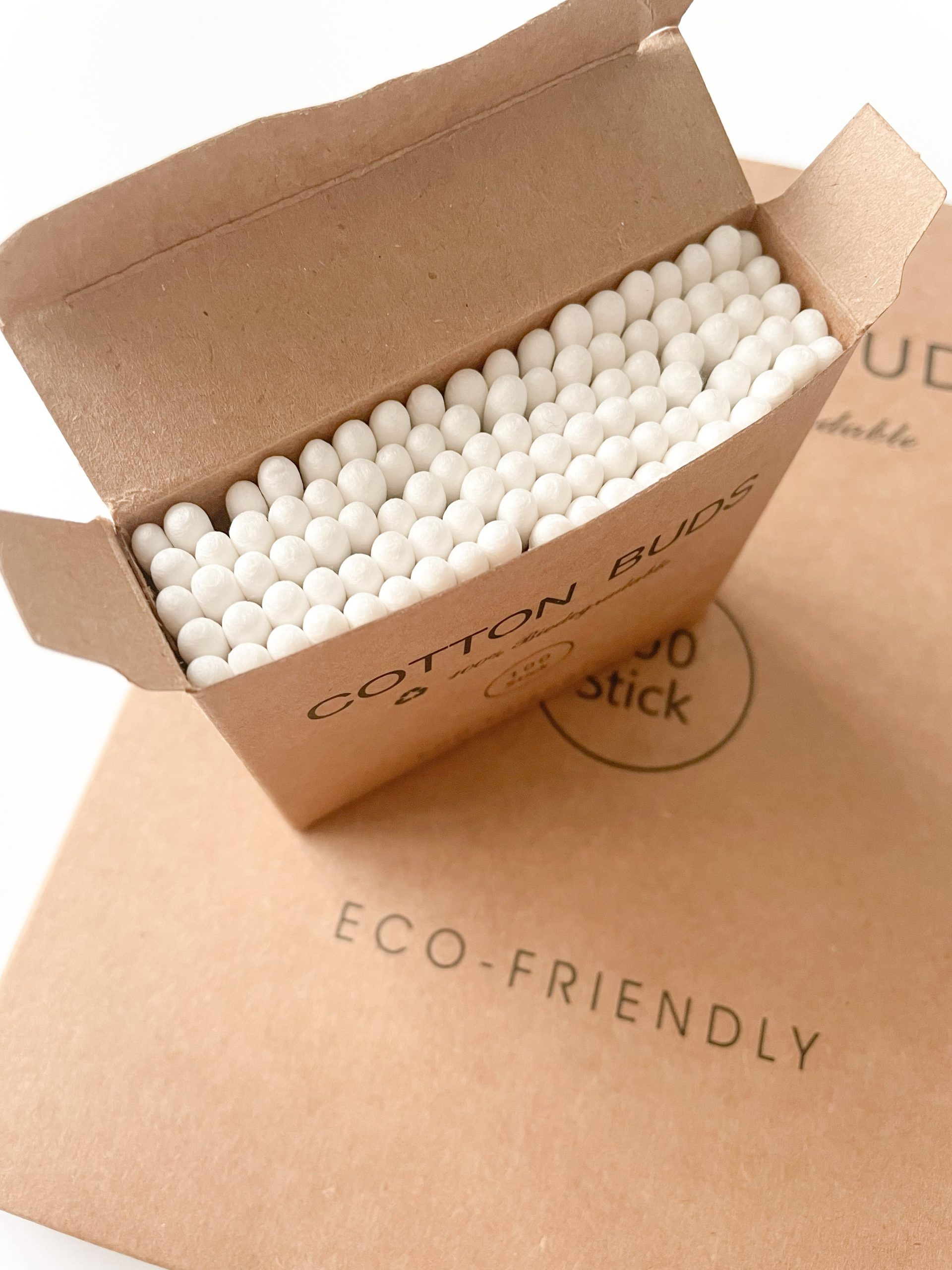 pack of bamboo cotton buds