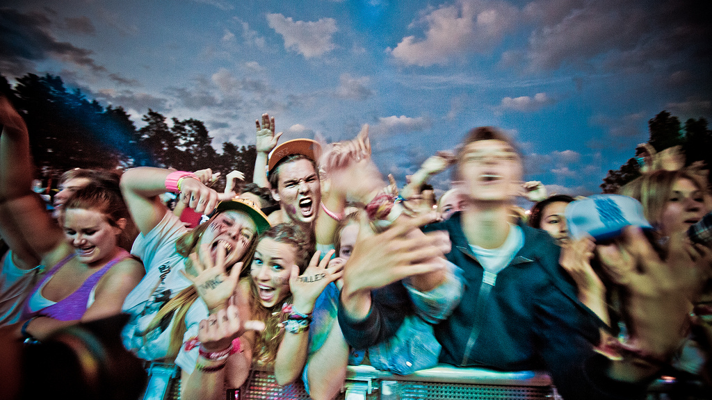 People @ Hovefestivalen