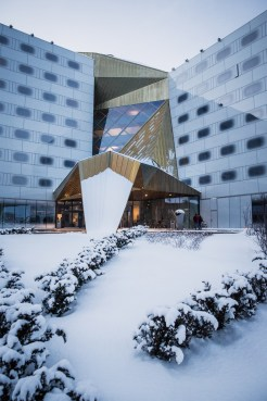 Clarion Hotel & Congress Trondheim, Norway. Architect: Plan Arkitekter AS