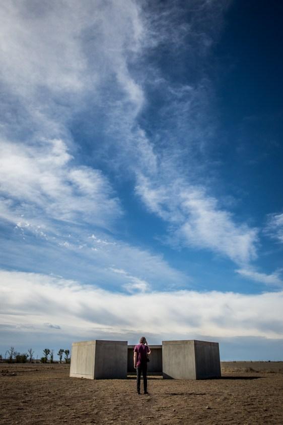 Marfa, Donald Judd sculptures