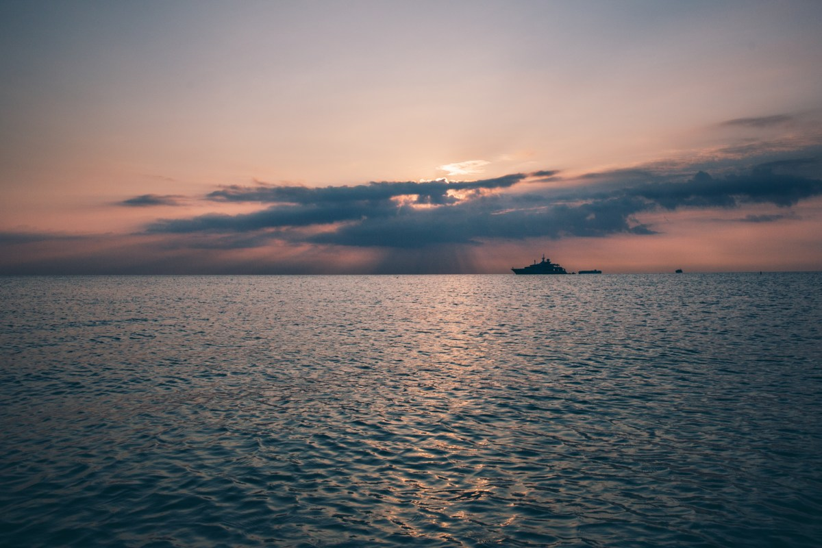 Morning swim, Miami Beach