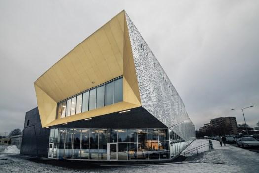 Oslo Skatehall, Norway. DARK Arkitekter