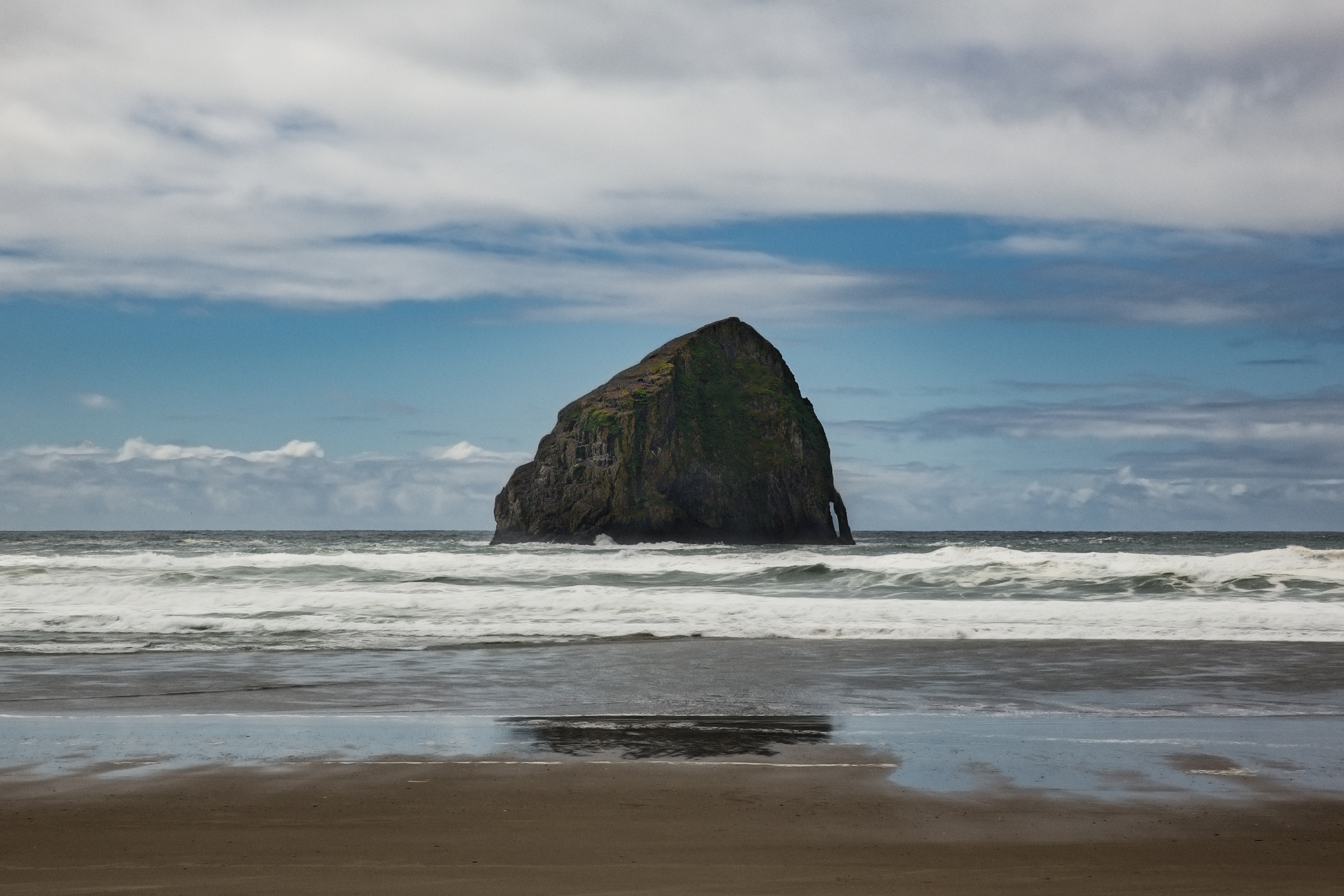 Somewhere nearby Cannon Beach