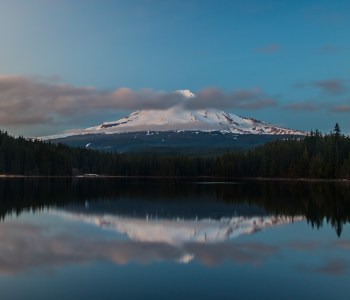 Mt. Hood from Trillium Lake