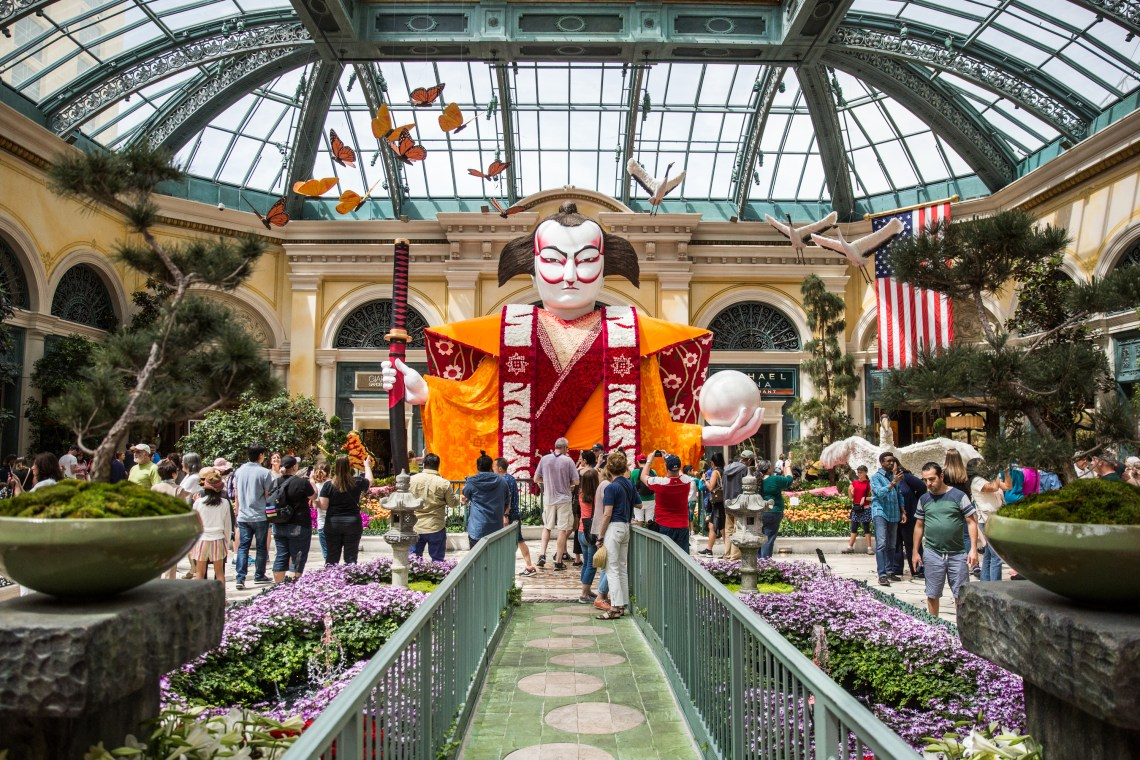 Botanical Gardens at Bellagio, Las Vegas