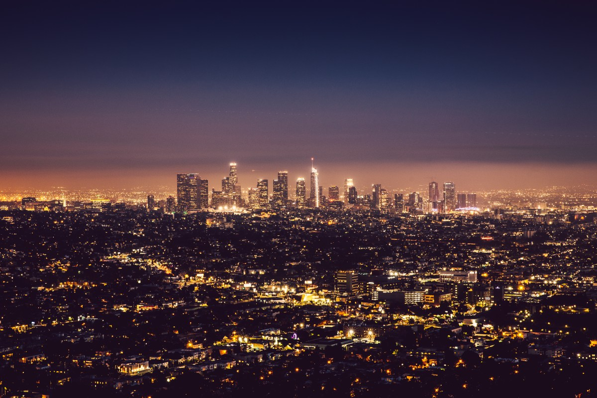Los Angeles Downtown from Griffith Observatory