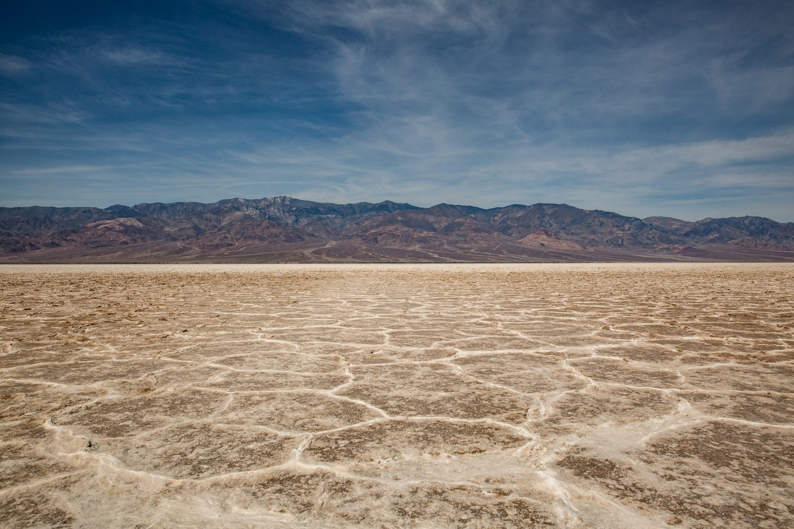 Daytime at Badwater Basin, Death Valley