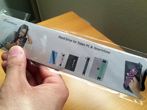SHC タブレットPC用安全ハンドストラップ