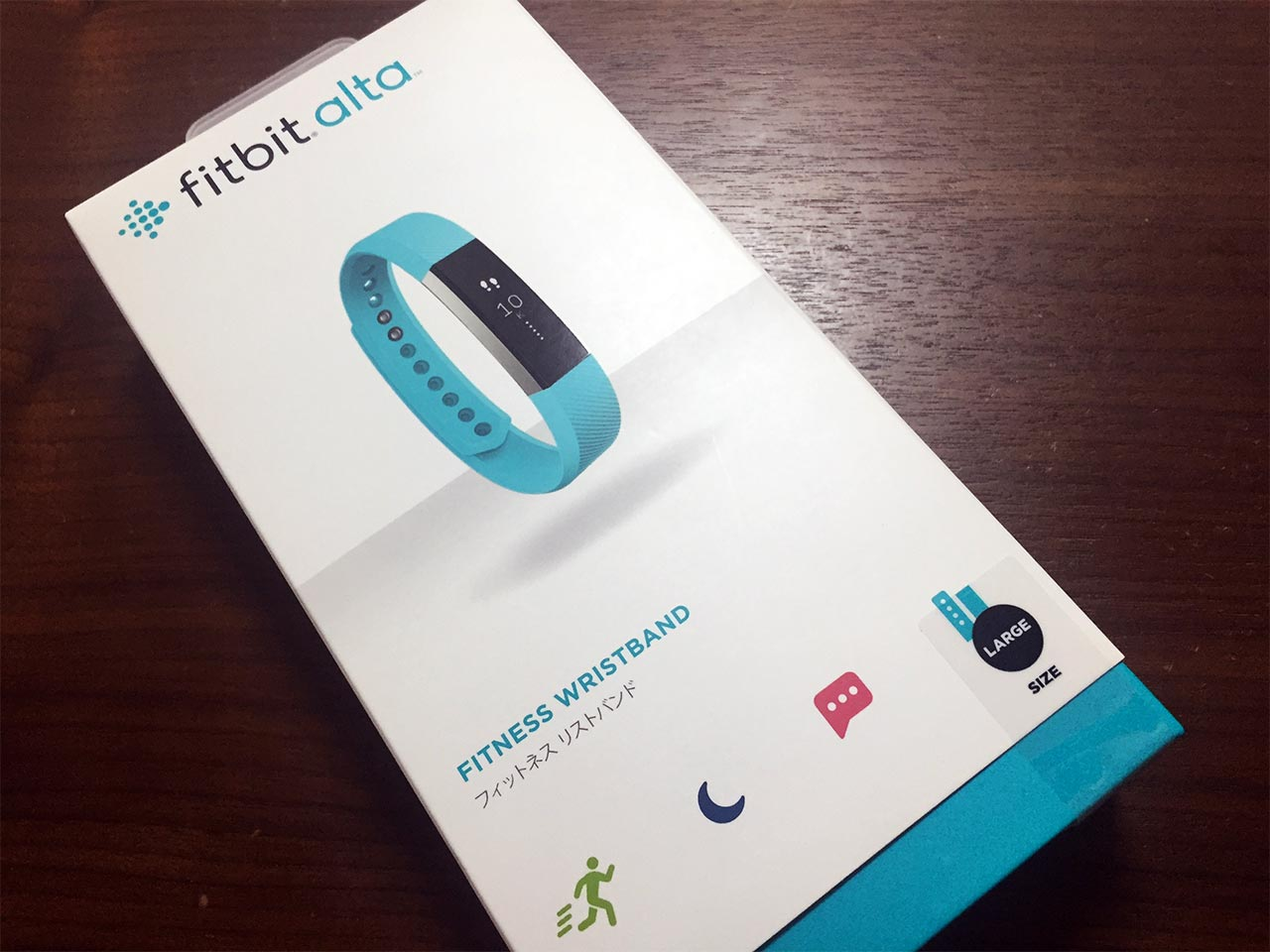 FItBit AltaティールLarge Size