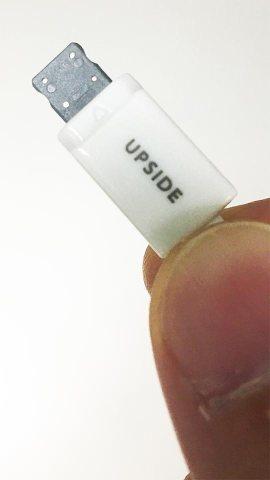 UPSIDE100円iPhone用USB充電ケーブル