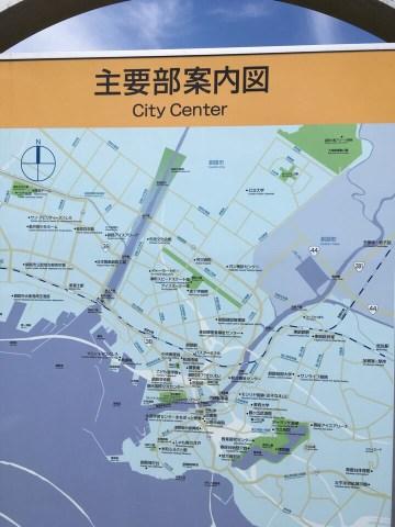 釧路市湿原展望台_釧路市内地図