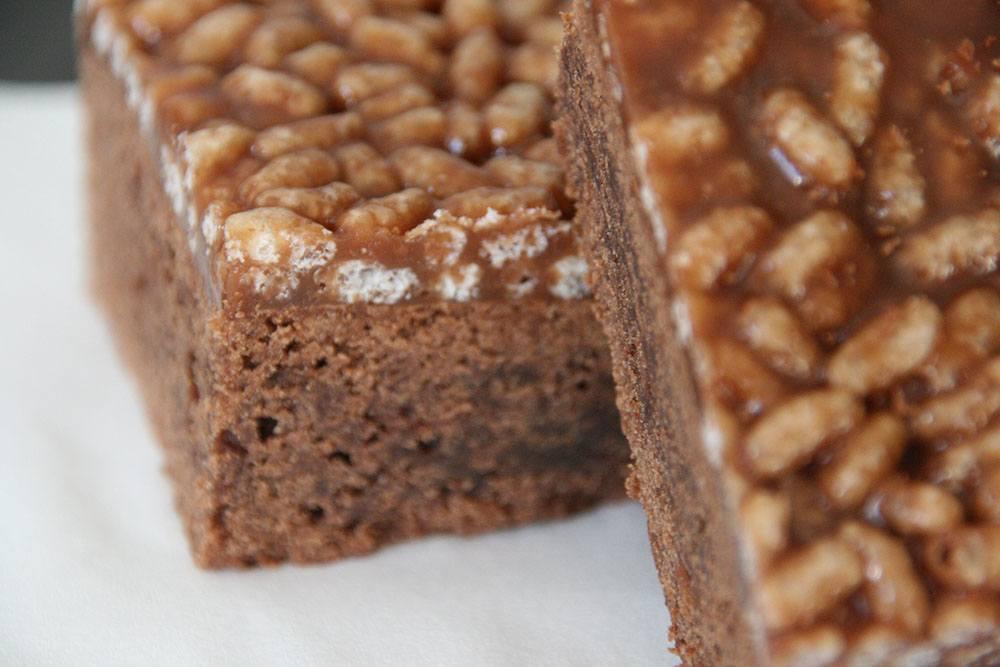 crunchy chokoladekage