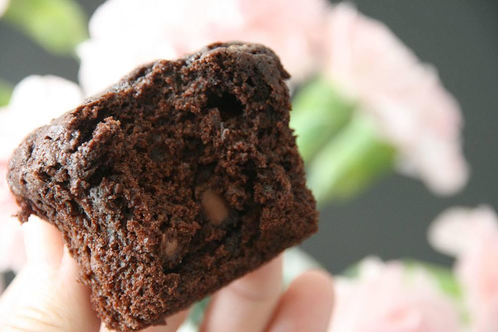 Opskrift på lækker luftig chokolade muffins