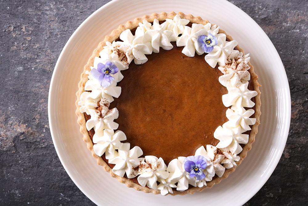 Opskrift på pimpkin pie