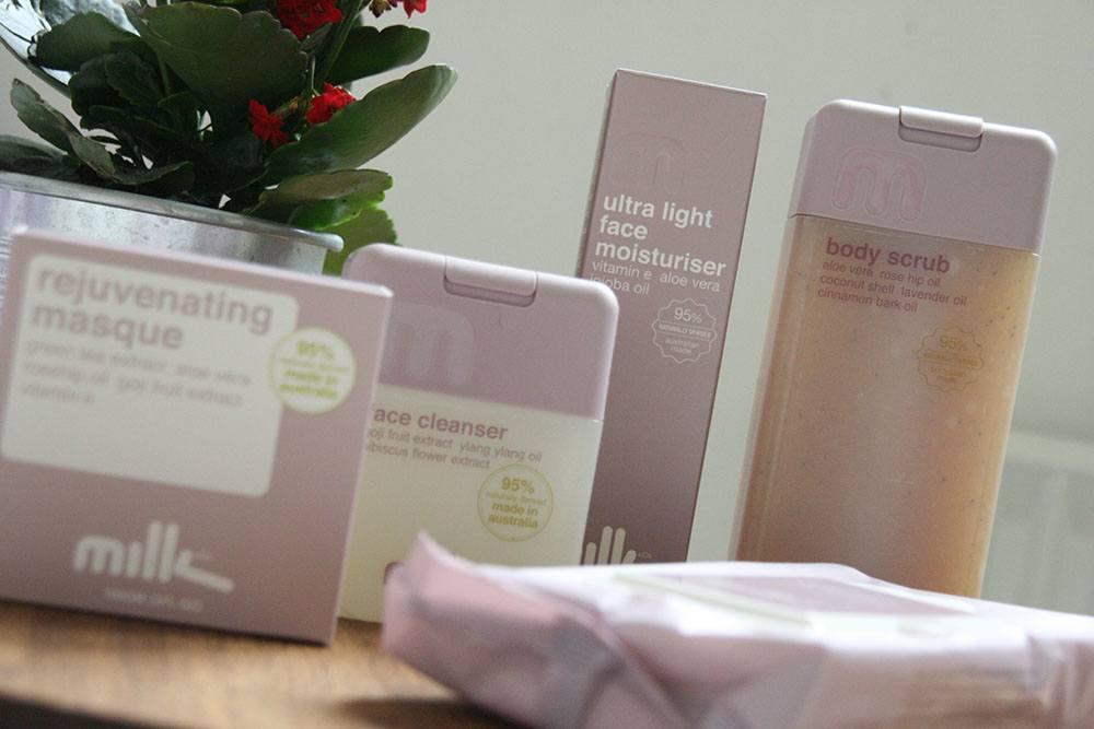 Skønhedsprodukter fra Milk & Co
