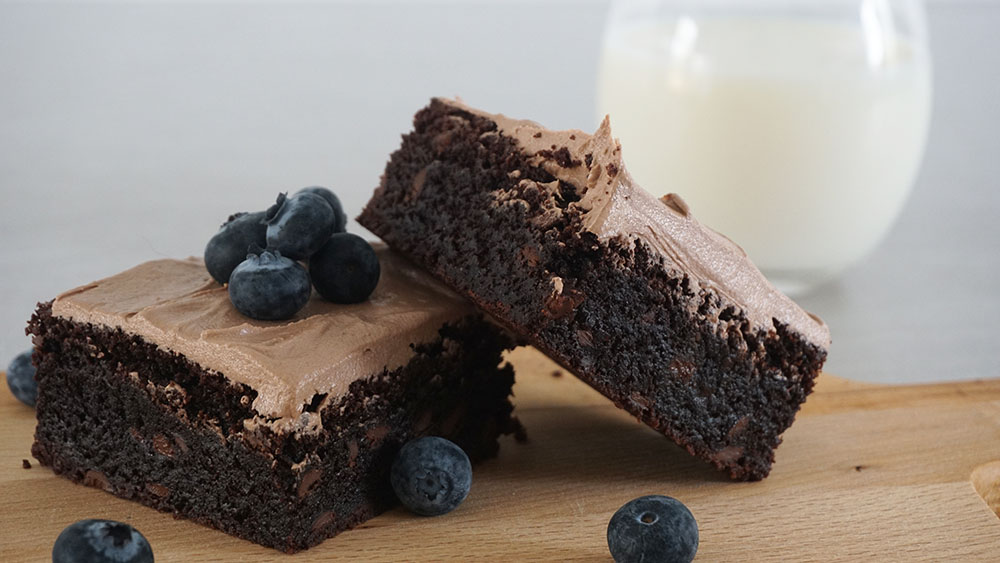 opskrift, Fudgy Nutella brownies