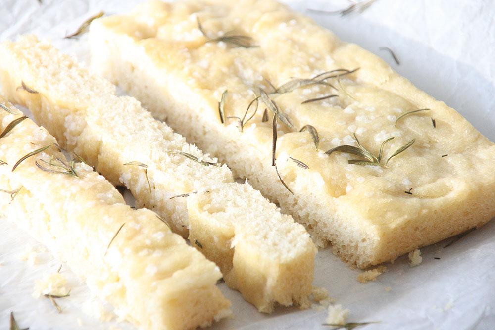 Opskrift på lækkert foccacia brød