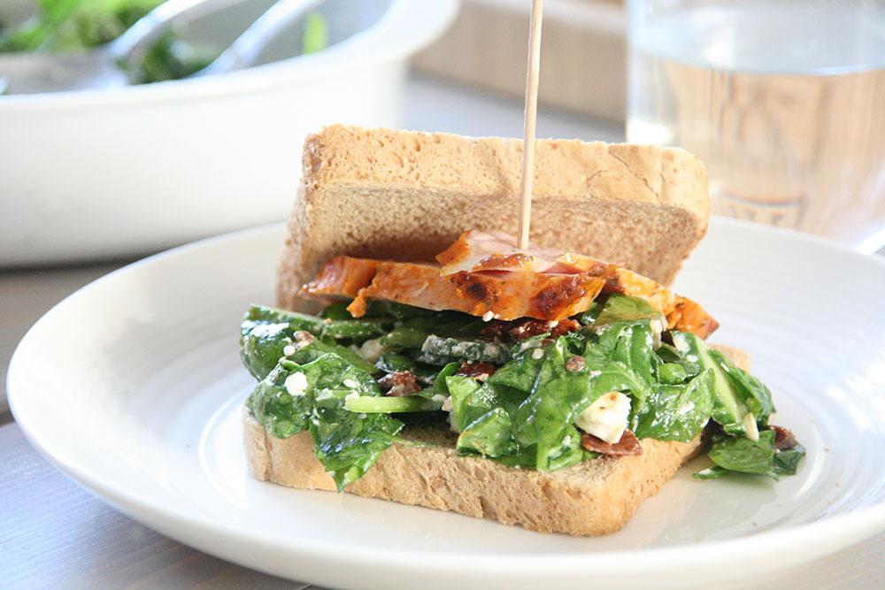 Opskrift på lækker sandwich
