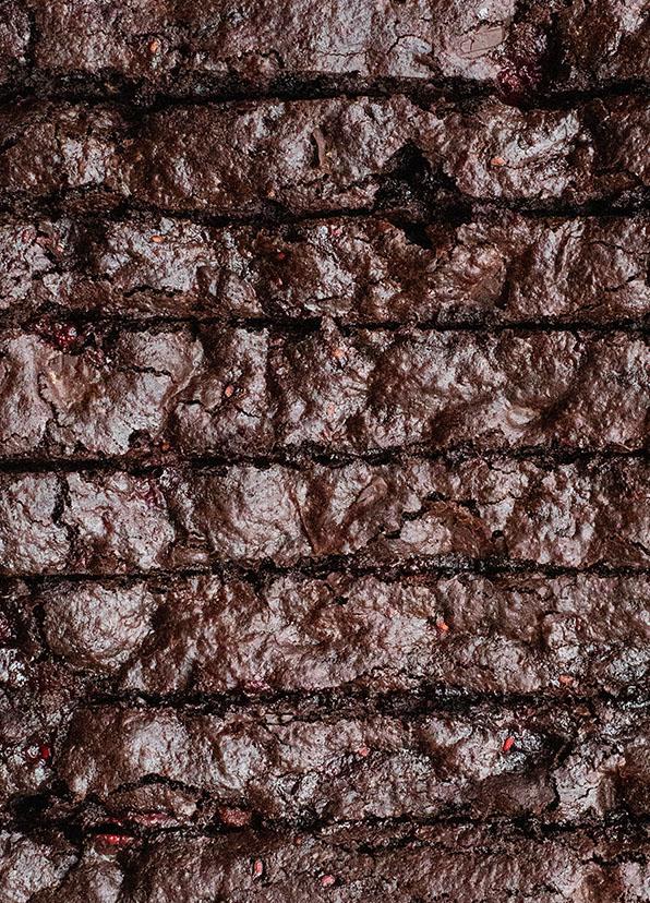 Opskrift på verdens bedste fudgy brownie