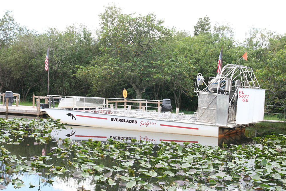 Everglades Safari park - Airboat ride