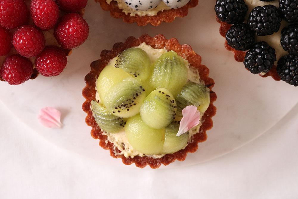 opskrift på de lækreste frugttærter