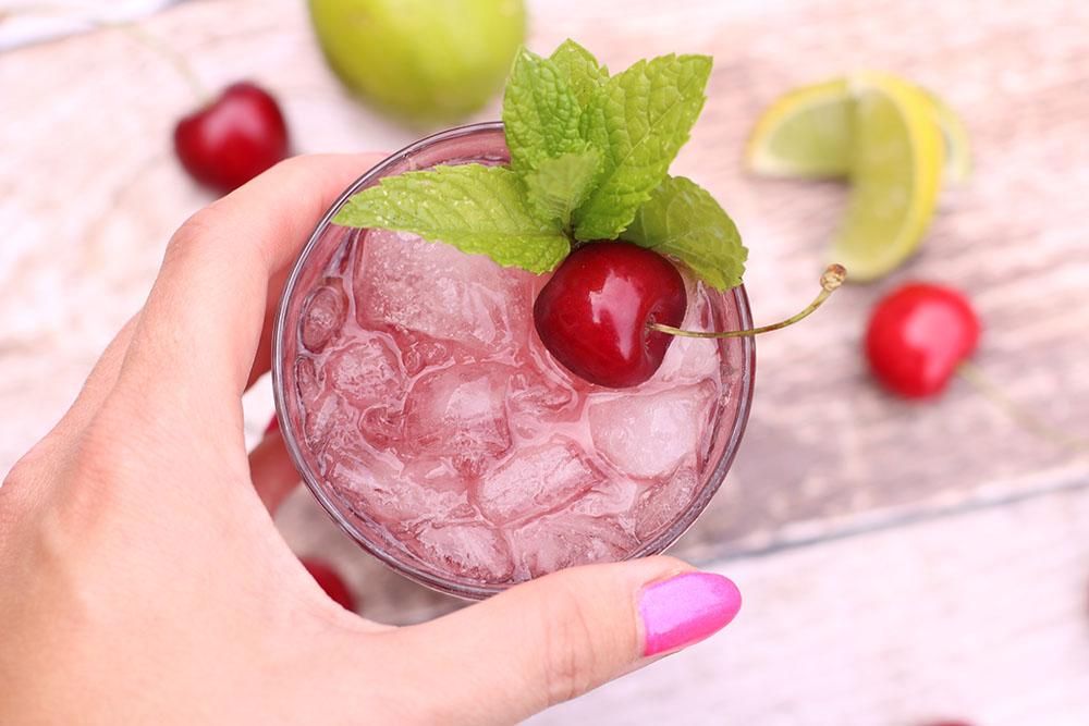 Lækker kirsebær drink