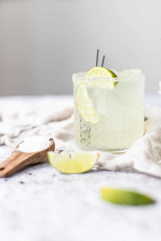 opskrift på forfriskende margarita uden tequila