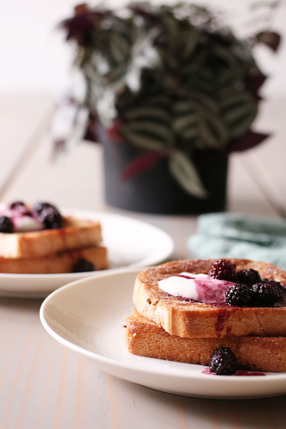 veganske french toast