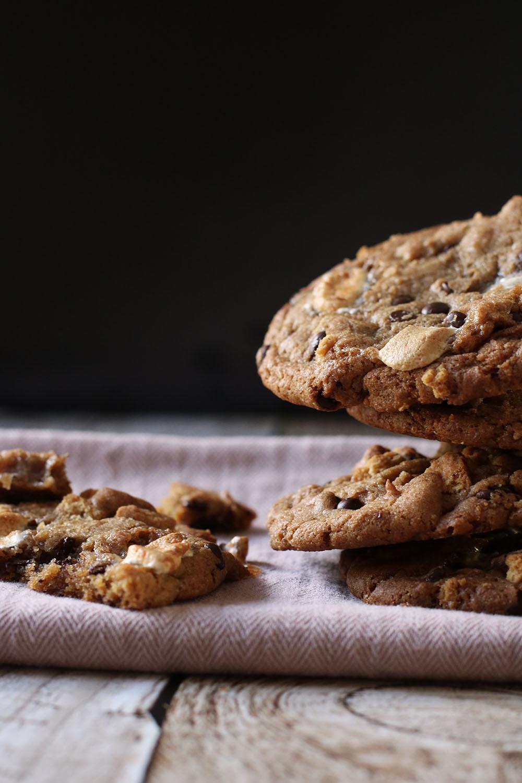 Den perfekte opskrift på S'mores cookies