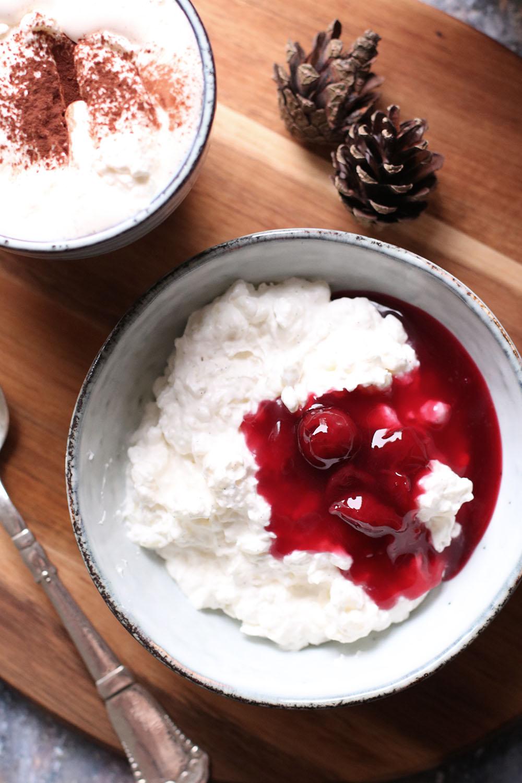 Lækker vaniljeprikket risalamande