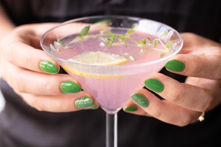 Lyserød martini på under 5 minutter