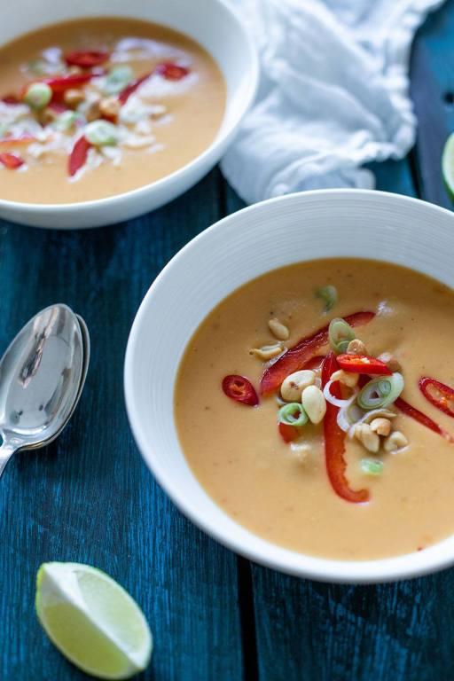 nem opskrift på thaisuppe