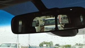 stepwagon back mirror