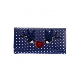 bnwbn1432na_porte-feuilles-cartes-monnaie-pin-up-rockabilly-pois-hirondelles